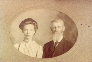 Matthew Baird and his daughter Carrie Ethel, c. 1900. Courtesy of the Connell Family.